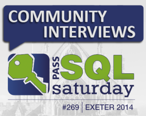 SQL Saturday Exeter Community Interviews