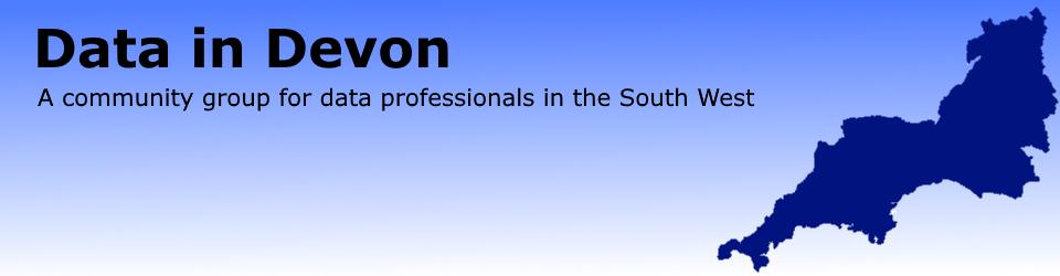 Data in Devon – Saturday 27th April session schedule | Data South West